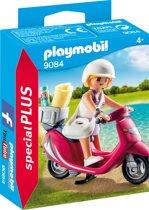 PLAYMOBIL Zomers meisje met scooter  - 9084