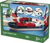 BRIO Treinset vracht bij de haven - 33061