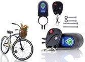 Fietsalarm met afstandsbediening - bescherm je (brom) fiets!