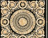 KLASSIEK ORNAMENTEN BEHANG - Creme Zwart Metallic  - AS Creation Versace 4