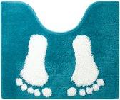 Sealskin Amy - Toiletmat - 50x60 cm - Turquoise