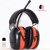 Soul Taine® - EAR 21 R | Gehoorbescherming met FM radio | oorkappen met FM radio | gehoorbescherming met radio | gehoorbeschermer met radio