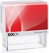 Colop stempel met voucher systeem Printer Printer 50 max. 7 regels voor Nederland formaat 69 x 30 mm