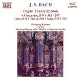 Bach: Organ Transcriptions BWV 592-597, etc / Rubsam