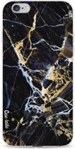 Casetastic Softcover Apple iPhone 6 / 6s  - Black Gold Marble