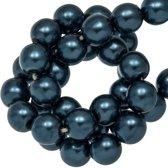 DQ Glasparels (8 mm) Blueberry Shine (75 Stuks)