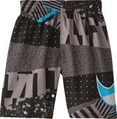 Nike Swim 8 Volley Short Jongens Zwembroek - Black - Maat 164