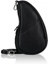 HEALTHY BACK BAG Rugzak - Leather - Black - Large Baglett - 5100LG-BK