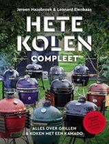 Boek cover Hete kolen compleet van Jeroen Hazebroek (Hardcover)