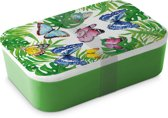 Sass & Belle lunchbox bamboo Tropical Butterflies lunchbox bamboo butterflies