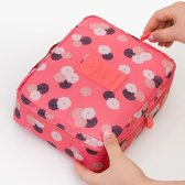 Flower Travel Toiletbag - Reis Toilet Bag Make Up Organizer - Cosmetica Etui Tasje
