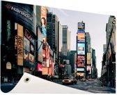 Reclameborden Times Square Tuinposter 200x100 cm - Tuindoek / Buitencanvas / Schilderijen voor buiten (tuin decoratie) XXL / Groot formaat!