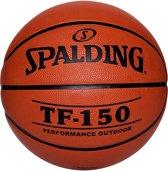 Spalding BasketbalVolwassenen - oranje/zwart Maat 6: 72-74cm omtrek / 530-550gram / Geschikt voor dames