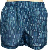 zondoorlatende heren zwembroek short - Funny Stripes