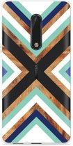 Nokia 5 Hoesje Wood Art
