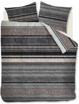 Beddinghouse Lola - Flanel - Dekbedovertrek - Lits-jumeaux - 240x200/220 cm + 2 kussenslopen 60x70 cm - Grey