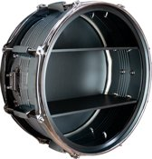 Berben Design Drum Wandkast - Zwart - 39 x 39 x 18cm