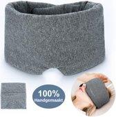 Nedoes™ - Zijden slaapmasker - 100% Handgemaakt - Vrouwen - Mannen - volwassenen - Kinderen - Oog Masker - Nachtmasker - Reismasker - Ooglapje - Oogkapje - Slaapbril - Blinddoek - Voor Ogen - Slapen - Slaap - Yoga - Oogkussen - Meditatie - Cadeau Tip