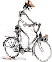Hinz & Kunst sculptuur beeldje Solex fiets thema cadeaus vervoer