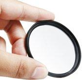52 mm digitale camera aluminium frame lens UV-filter (zwart)