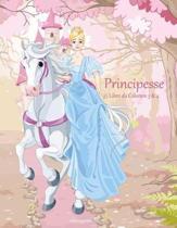 Principesse Libro Da Colorare 3 & 4