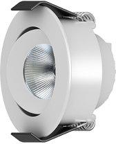 InterLight LED Downlight kantelbaar - 4W / Dim to WARM