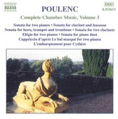Poulenc: Complete Chamber Music Vol 3 / Tharaud, et al