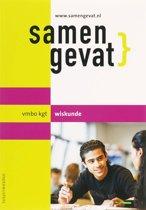 Boekomslag van 'Samengevat vmbo-kgt wiskunde'