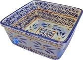 Lavandoux - Ovenschaal - Vierkant - 24 cm - Old World Blue