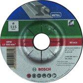 Bosch afbraam gebogen schijf voor metaal - 115 mm