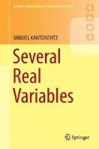 Several Real Variables