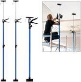 Platenlift / Plafondsteun 115-290 cm - Set van 2 - Blauw