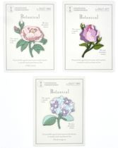 Strijk embleem 'Deluxe bloem roze kadopatch set (3)' – stof & strijk applicatie