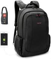 Tigernu Daily - laptop rugzak - anti diefstal usb - 12,5 tot 15,6 inch - zwart