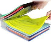 T shirt organizer 20 stuks - sorteerder T shirts - Handig Kleding organiseren - Kleding opbergen - kledingrek