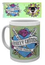 Suicide Squad Harley Quinn Tattoo Parlor Mok