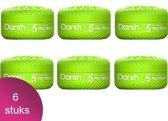 Dorsh Haar Wax D5 Mat Wax Zero Shine 6 Verpakking - 150ml