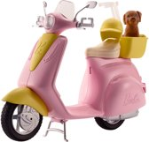 Barbie Scooter Met Hondje