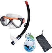IST Sports Snorkelset Masker + Snorkel Kinderen 5-12 jaar