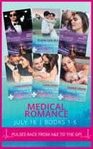 Medical Romance July 2016 Books 1-6