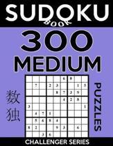 Sudoku Book 300 Medium Puzzles