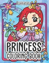 Princess Coloring Book: Cute Princess Coloring Books (US VERSION)