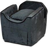 Snoozer Lookout - Autostoel - Autozitje voor honden - Medium 48x56x43 cm - Antraciet - Met lade