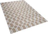 Beliani SERRES - Vloerkleed - Grijs - Polyester