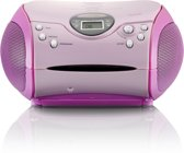 Lenco SCD-24 Portable radio/cd-speler - Roze