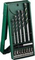 Bosch X-Line borenset - 14-delig - Voor hout, metaal en steen