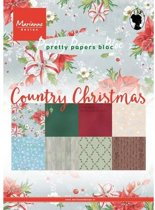 Marianne Design Paper pad Country Christmas
