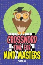 Crossword Times for Mind Masters Vol 6