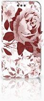 Sony Xperia XA | XA Dual Bookcase Watercolor Flowers