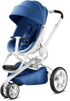 Quinny Moodd - kinderwagen | Blue Base (wit frame)